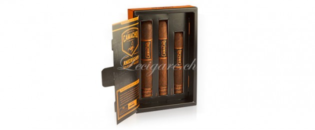 Camacho American Barel Aged  Assortiment 3 cigares