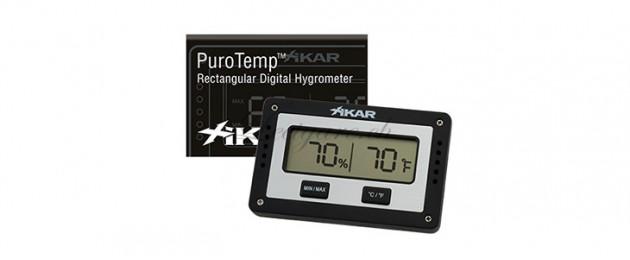 Hygromètre Rectangulaire digital Xikar