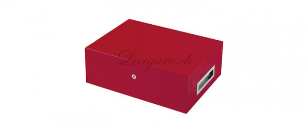Humidor Villa Spa rouge incluant Cigar Spa