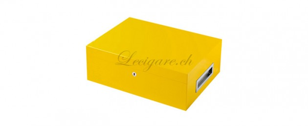 Humidor Villa Spa jaune incluant Cigar Spa