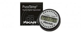 Hygromètre Rond digital Xikar PuroTemp