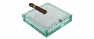Adorini Ashtray square glass