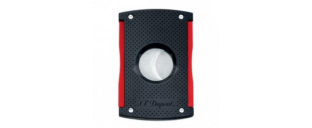 Coupe-Cigares Maxi Jet S.T.Dupont - Noir mat et Rouge