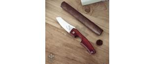 Coupe cigares LE PETIT Wood Padauk by Les Fines Lames
