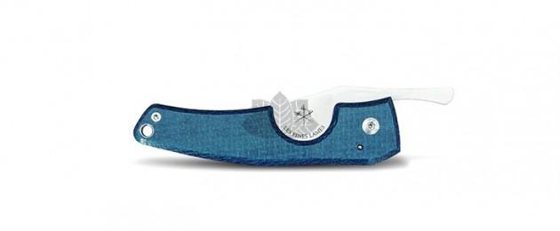 Coupe cigares LE PETIT Composite Micarta Blue by Les Fines Lames