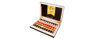 LE PETIT Cigar Case by Les Fines Lames - Natural Black