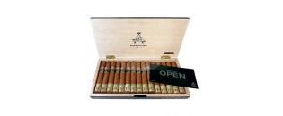 LE PETIT Cigar Case by Les Fines Lames - Natural Brown