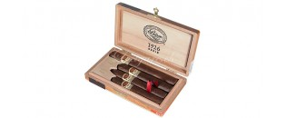 Zino - cigar cases - two Double Corona - white