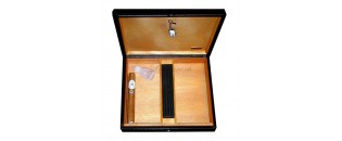Zino leather travel humidor...