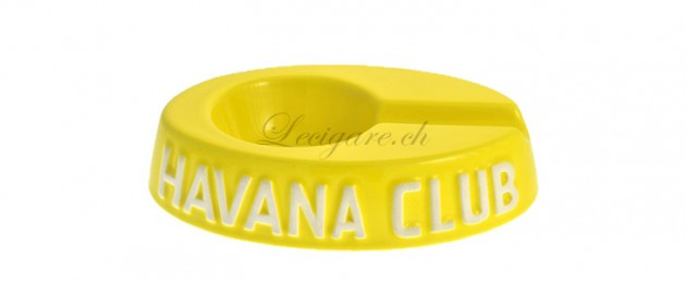 Cendrier Havana club Egoista jaune citron