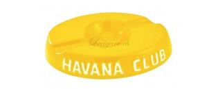 Cendrier Havana club El Socio jaune citron